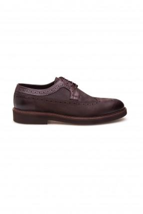 حذاء رجالي كلاسيكي _ بني