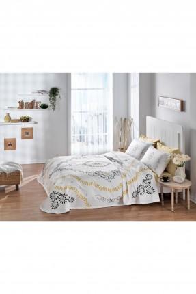 طقم بطانية سرير مفرد - ورق شجر