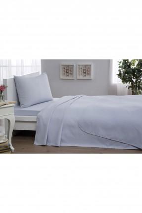 طقم بطانية سرير فردي - ازرق