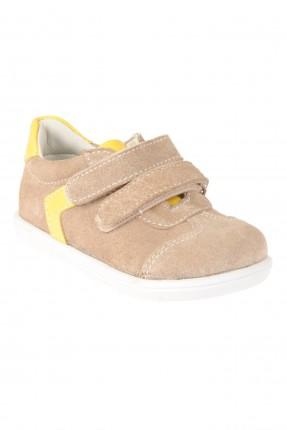 حذاء بيبي ولادي - بيج