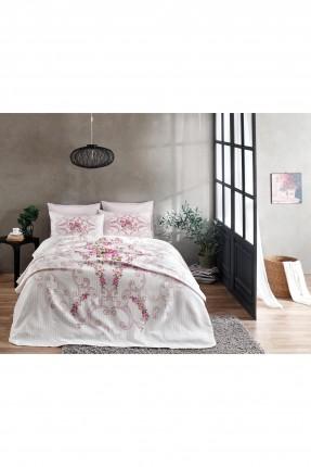 طقم بطانية سرير فردي - مزخرف