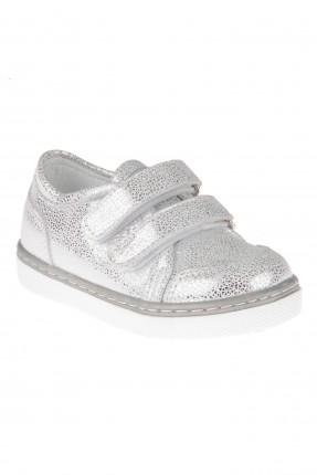 حذاء بيبي بناتي - رمادي