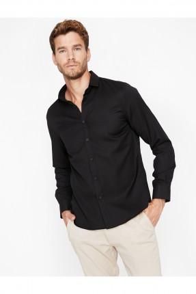 قميص رجالي - اسود
