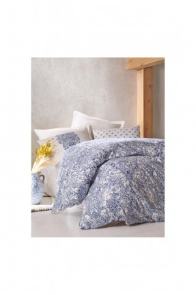 طقم غطاء سرير فردي - مزخرف