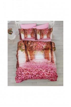 طقم غطاء سرير مزدوج - رسمة اشجار