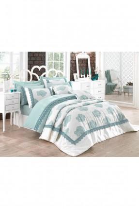 طقم غطاء سرير عرائسي  - مزخرف