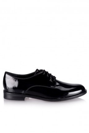 حذاء نسائي شيك اكسفورد - اسود