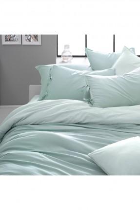 طقم غطاء سرير مزدوج - سادة