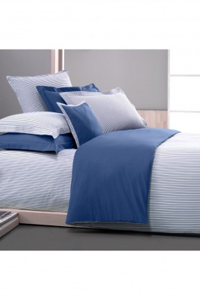 طقم غطاء سرير فردي - مخطط