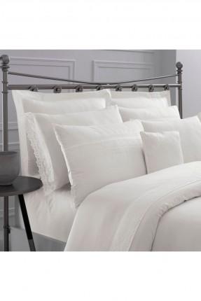 طقم غطاء سرير مزدوج - دانتيل