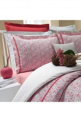طقم غطاء سرير فردي - احمر