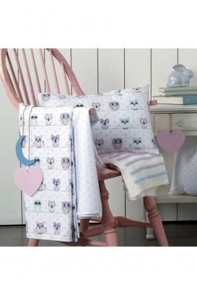 طقم غطاء سرير بيبي مع رسمات