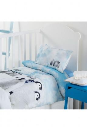 طقم غطاء سرير بيبي ولادي - رسمة بطاريق