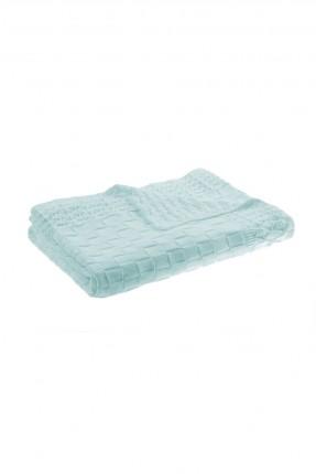 بطانية سرير بيبي ولادي - ازرق