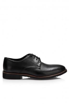 حذاء رجالي كلاسيكي - اسود