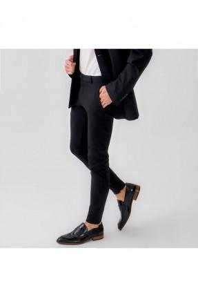 حذاء رجالي ذو لمعة - اسود