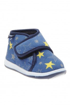 حذاء بيبي ولادي مع نجوم