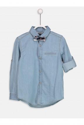 قميص جينز اطفال ولادي