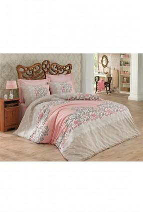 طقم غطاء سرير مزدوج - زخرفة نباتية