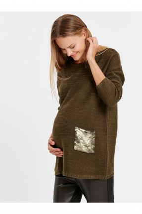 كنزة حمل مع جيب