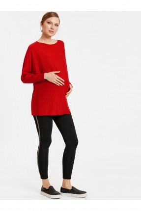 بلوز حمل طويل - احمر
