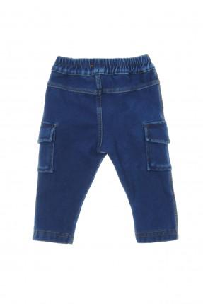 بنطال بيبي ولادي جينز مع جيب