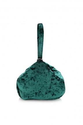 حقيبة يد نسائية بسحاب - اخضر