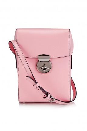 حقيبة يد نسائية بغطاء - وردي