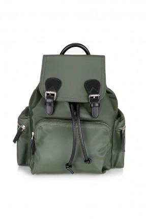 حقيبة ظهر نسائية بغطاء