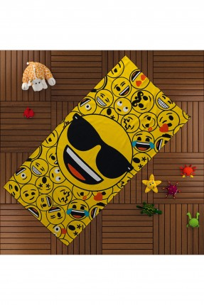 منشفة حمام اطفال - رموز تعبيرية