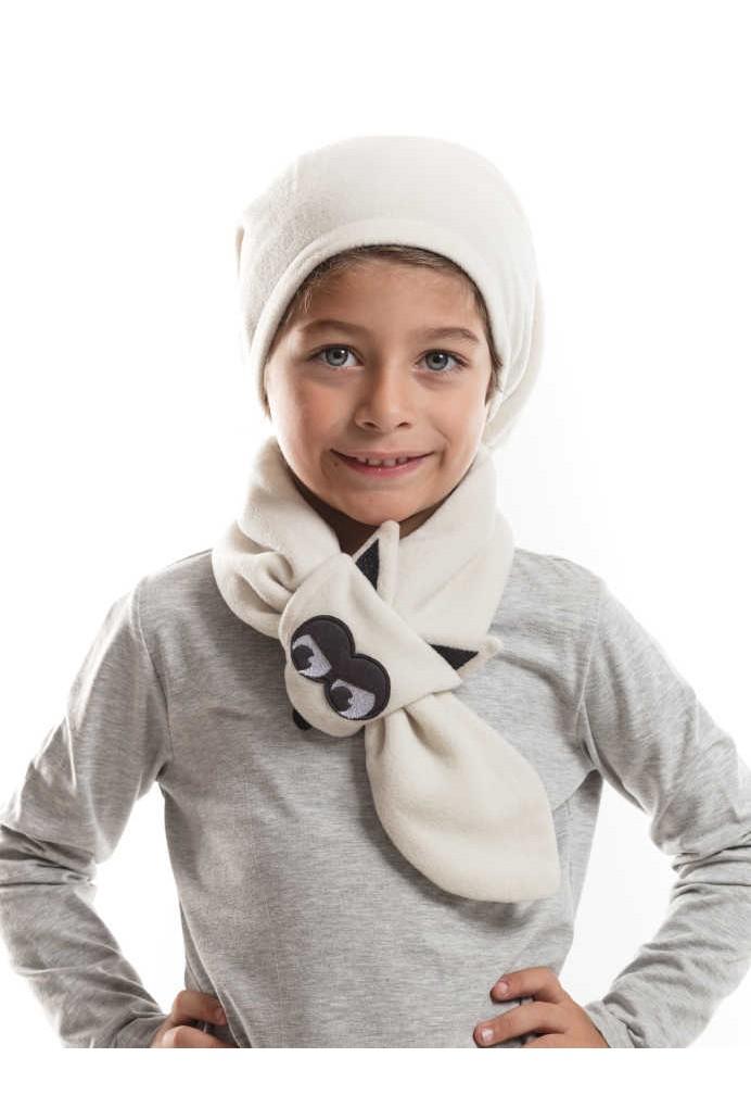 553f3982d صورة 1 من اصل 1. طقم اطفال ولادي قبعة + لفحة - بالجملة - دينو كيدز -  denokids