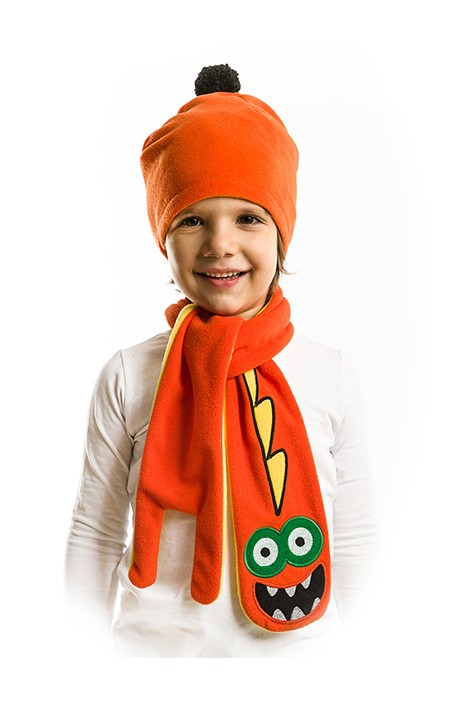 7ee91e0b5 صورة 1 من اصل 1. طقم اطفال ولادي قبعة + لفحة - للبيع بالجملة - دينو كيدز -  denokids