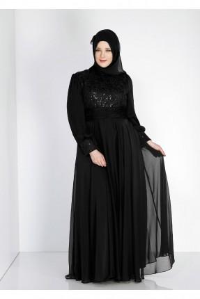 فستان رسمي شيك - اسود