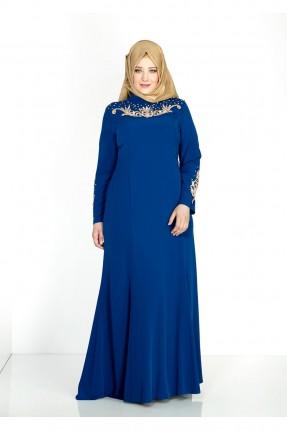 فستان رسمي شيك مطرزة زخرفة