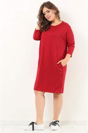 فستان سبور قصير _ احمر