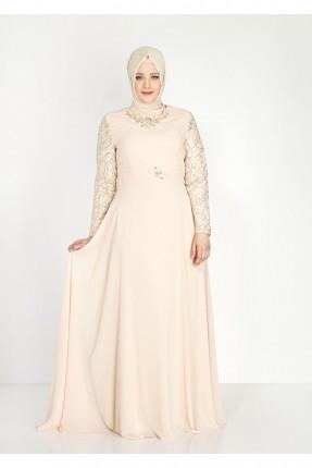 فستان رسمي مزينة