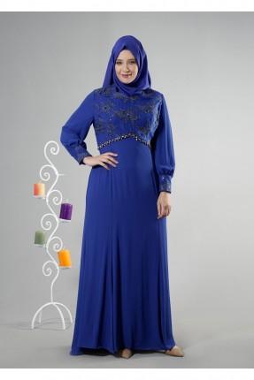 فستان رسمي مطرزة