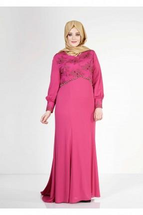فستان رسمي طويلة مطرزة