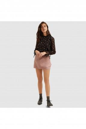 تنورة نسائي قصيرة - وردي
