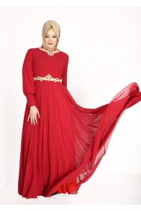 فستان رسمي شيك - خمري