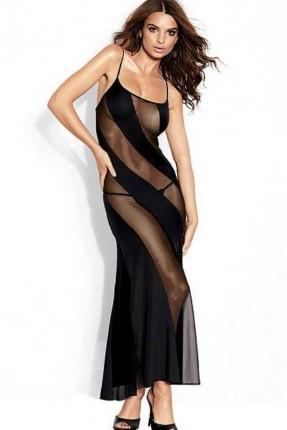 لانجري فستان طويل