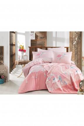 طقم غطاء سرير مزدوج مع رسومات