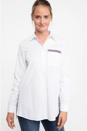 قميص نسائي سبور - ابيض