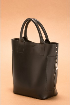 حقيبة يد نسائية مع سحاب جانبي