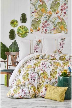 طقم غطاء سرير مزدوج - ورق شجر