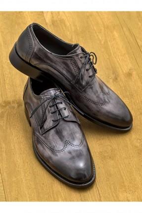 حذاء رجالي شيك مع رباطات