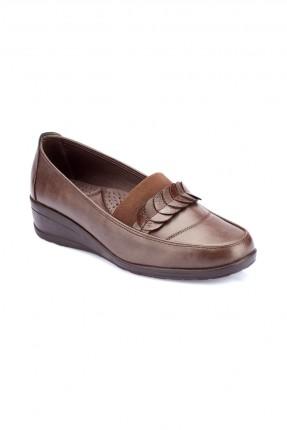 حذاء نسائي سبور _ بني