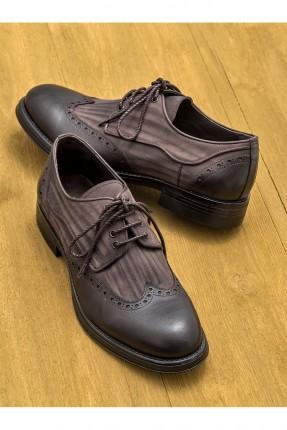 حذاء رجالي رسمي شيك - بني