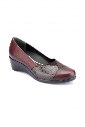 حذاء نسائي سبور _ خمري