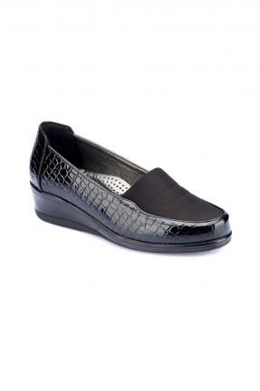 حذاء نسائي سبور _ اسود